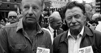 04-Galeano-y-Benedetti-1987-Foto-OSCAR-BONILLA